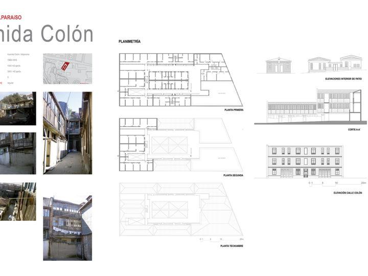 Cités de Valparaíso – Av. COLON