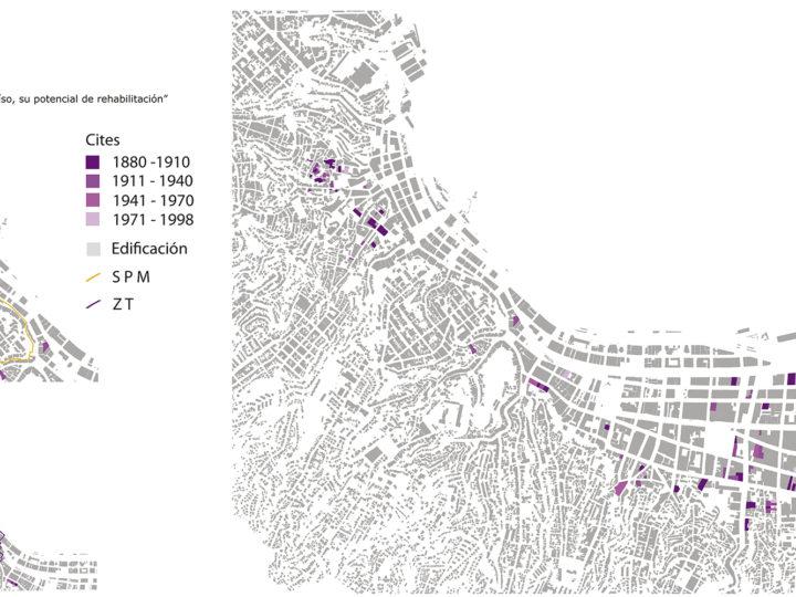 Cités de Valparaíso – Lámina años de edificación