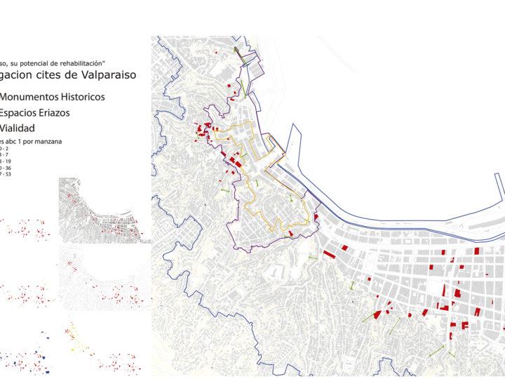 Plano general investigación Cités de Valparaíso