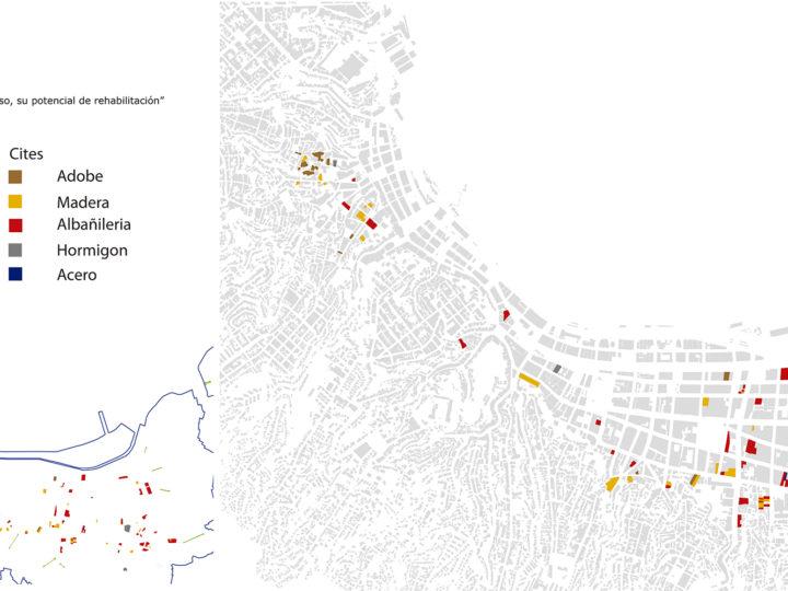 Lámina Materialidad – Cités de Valparaíso